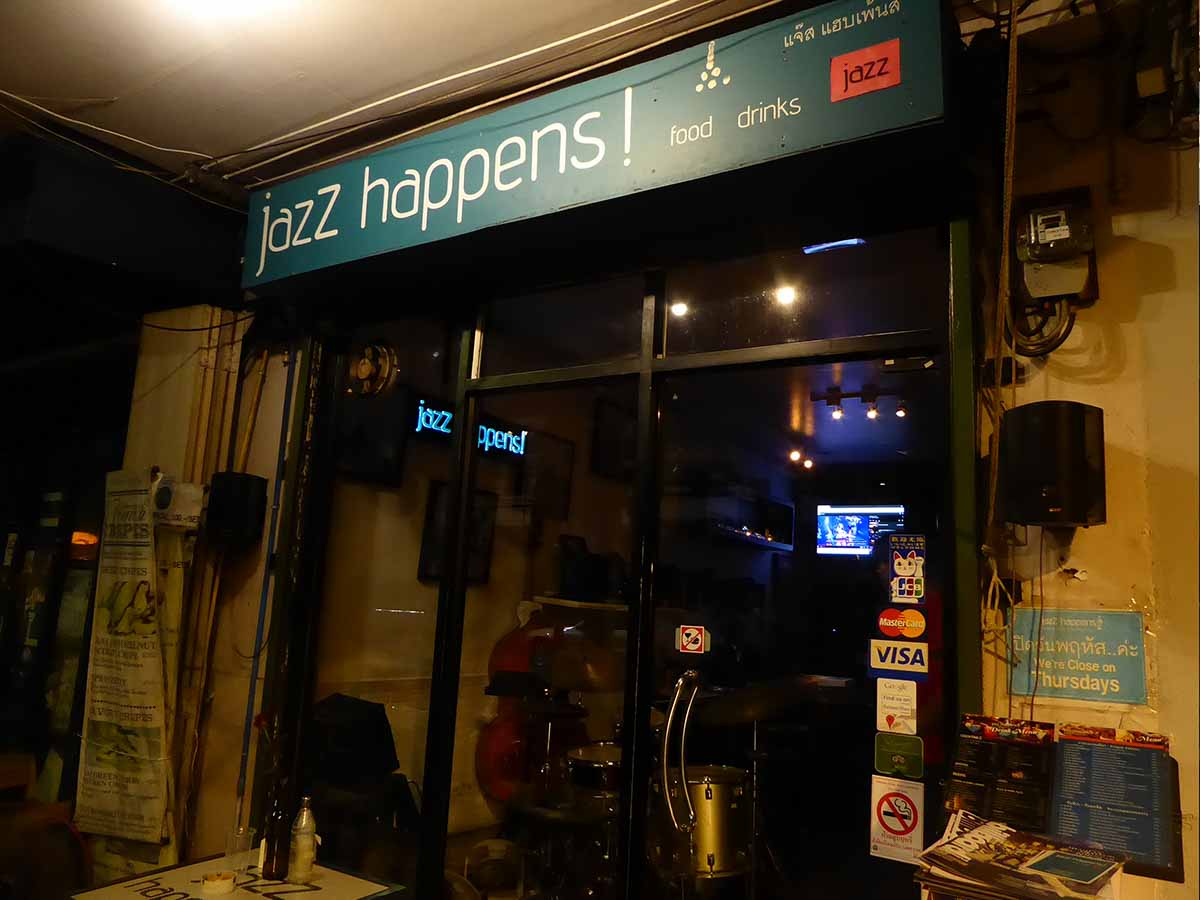 Jazz Happens Bar in Bangkok Live Jazz Music in Bangkok
