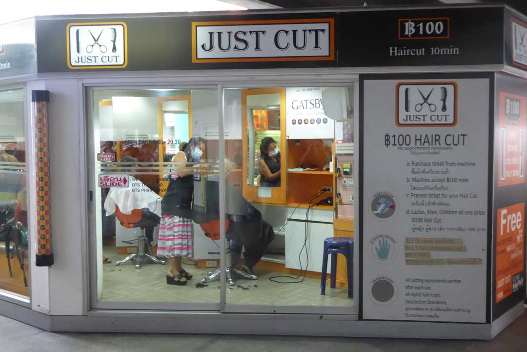Where to get a haircut in Bangkok