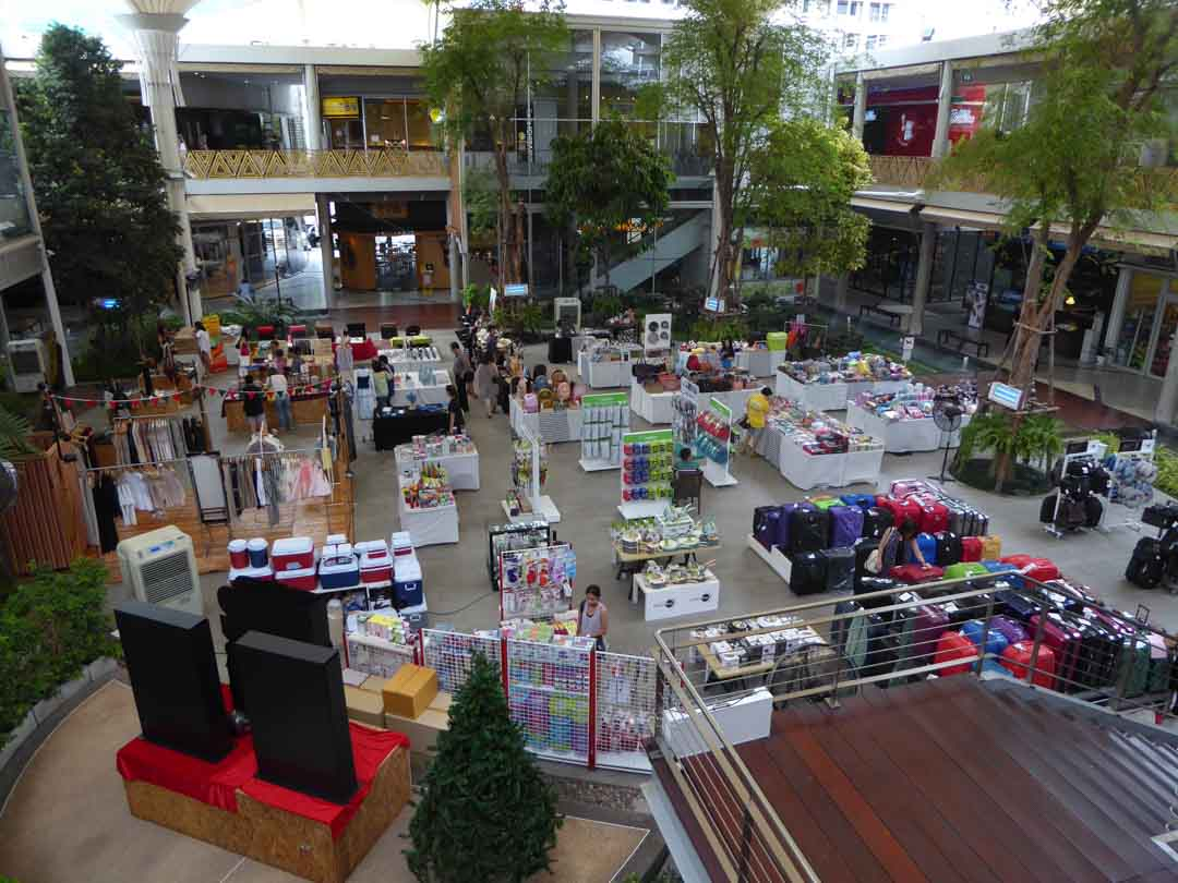Food Malls in Bangkok - K Village