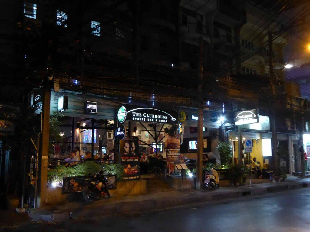 The Clubhouse Sports Bar in Bangkok