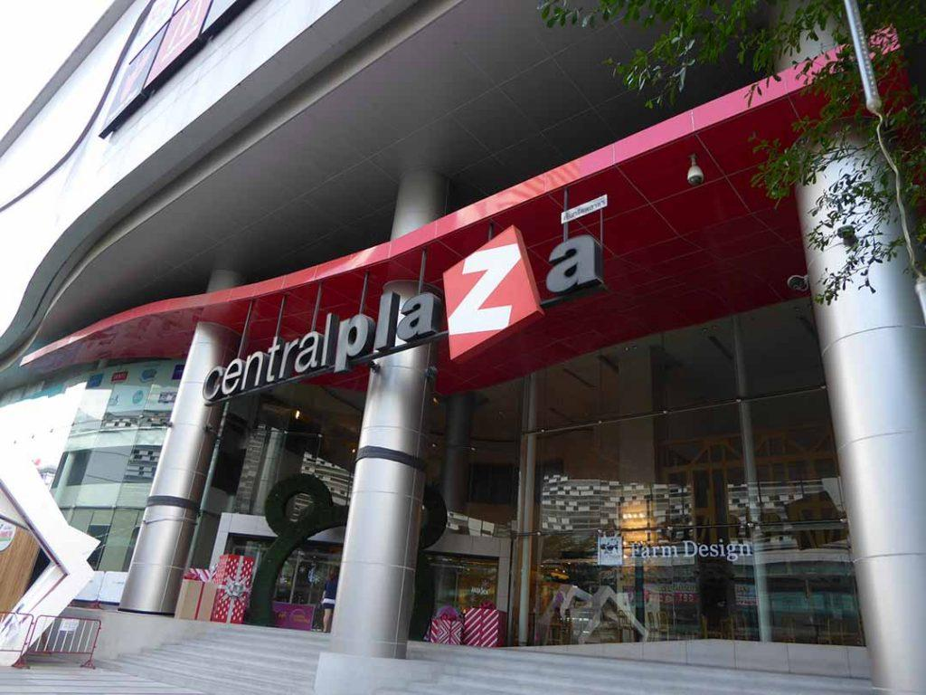 Shopping malls in Bangkok - central plaza rama 9