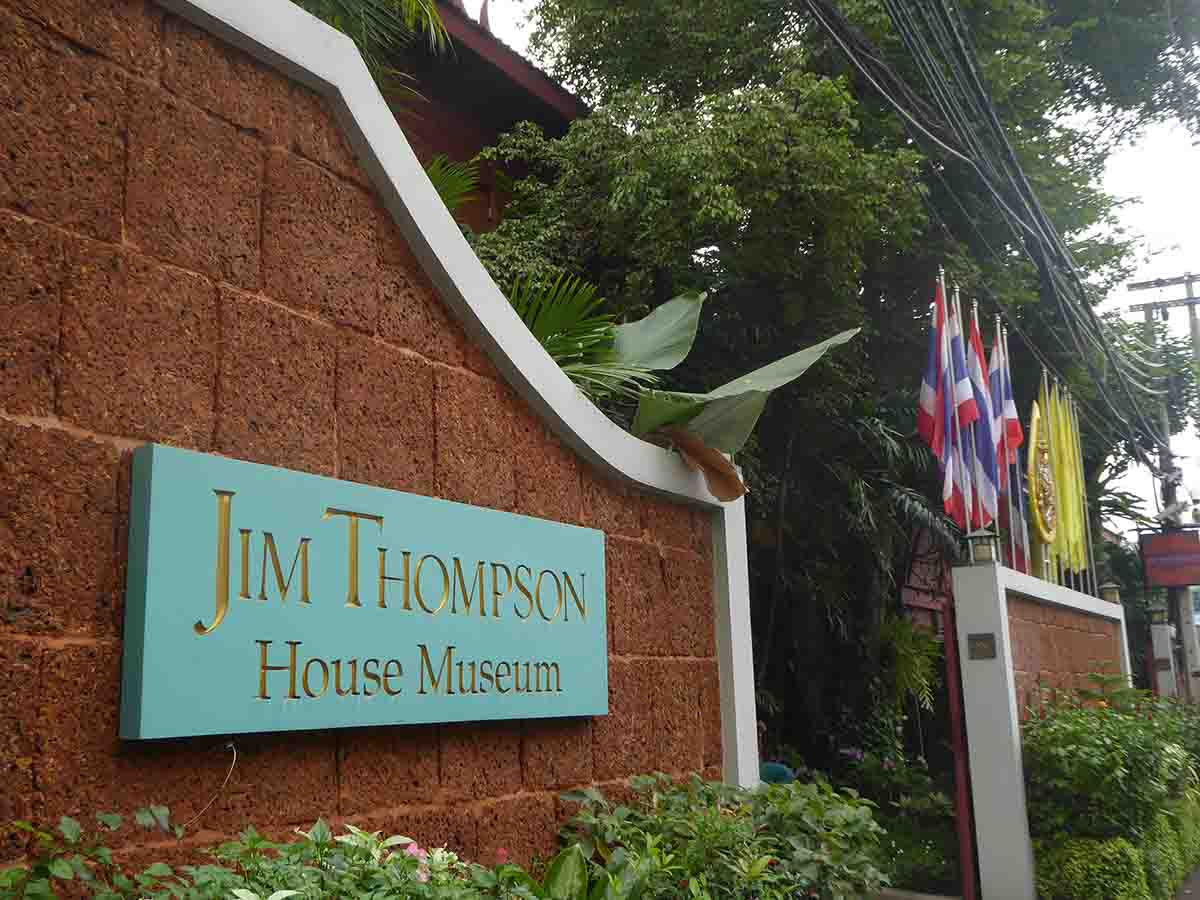 Jim Thompson House Museum in Bangkok.