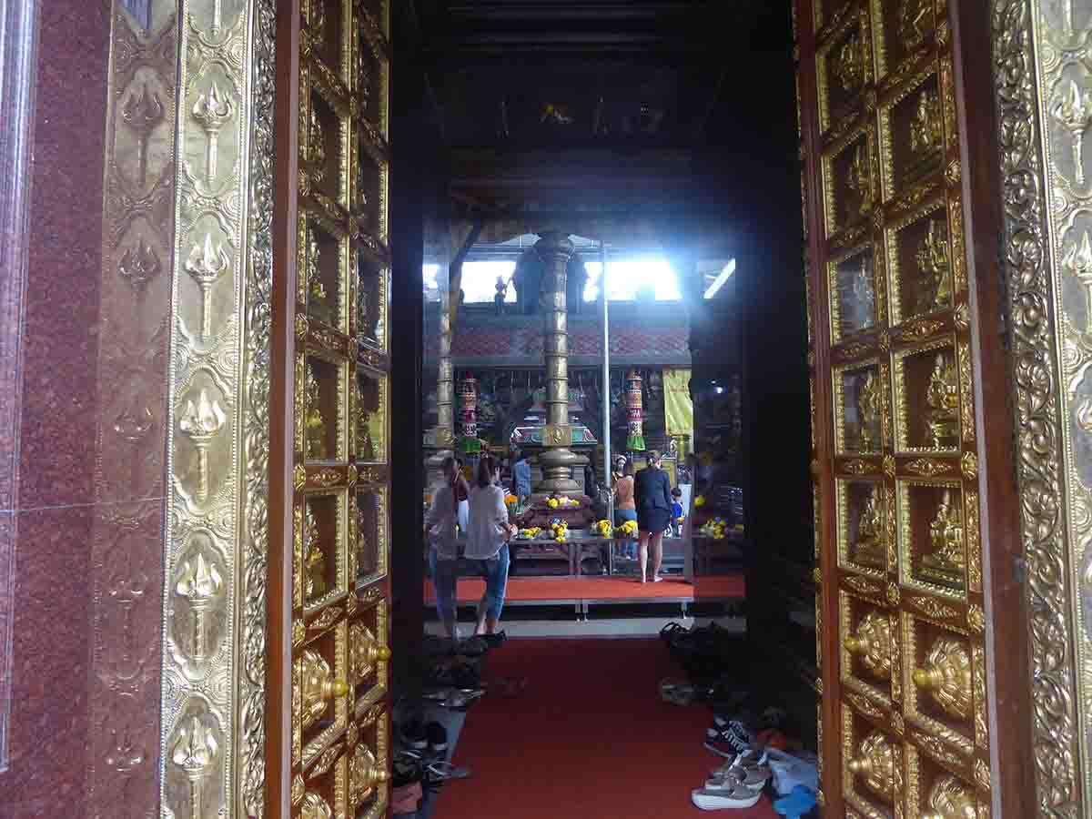 Wat Phra Sri Maha Uma Devi Indian Hindu Temple in Bangkok