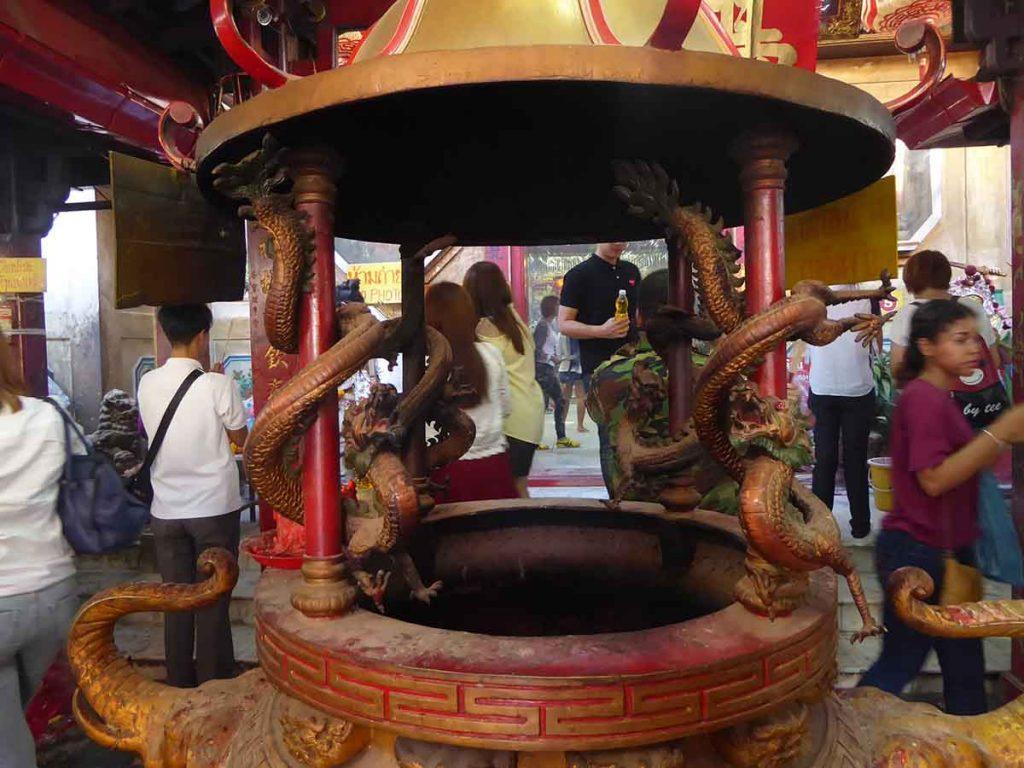 The Tiger God Shrine (San Chao Pho Suea) Chinese Shrine Bangkok