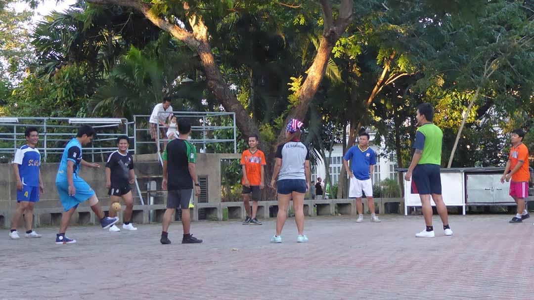 Outdoor Recreation Parks in Bangkok Saranrom Park