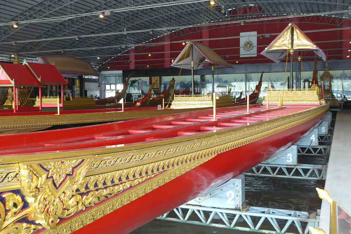 The National Museum of the Royal Barges in Bangkok
