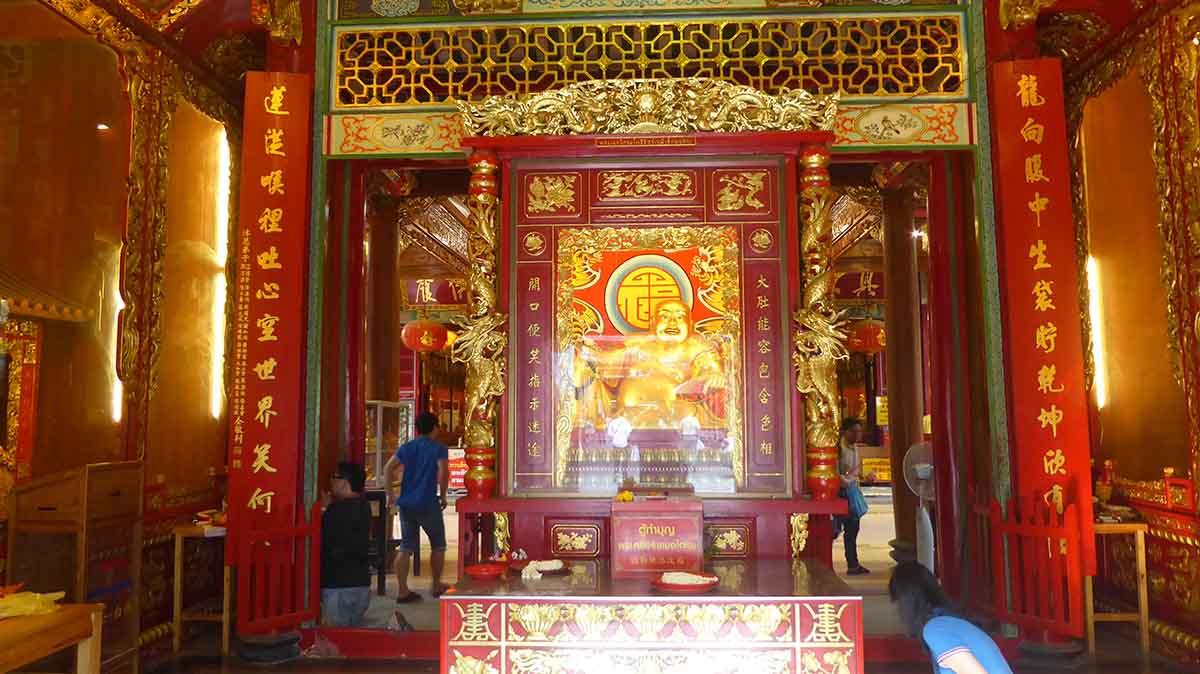 Wat Mongkon Kamalawat Chinatown Bangkok