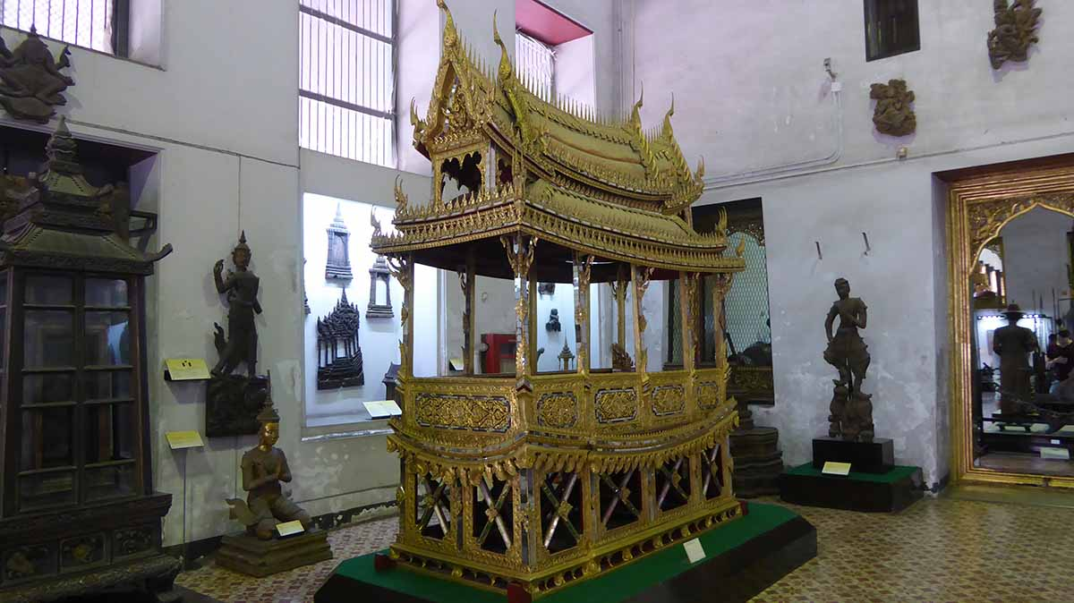 The National Museum Bangkok. Museums in Bangkok.