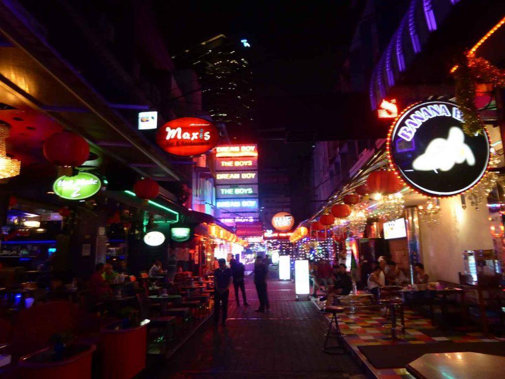 Soi Twilight Gay Go Go bars Bangkok