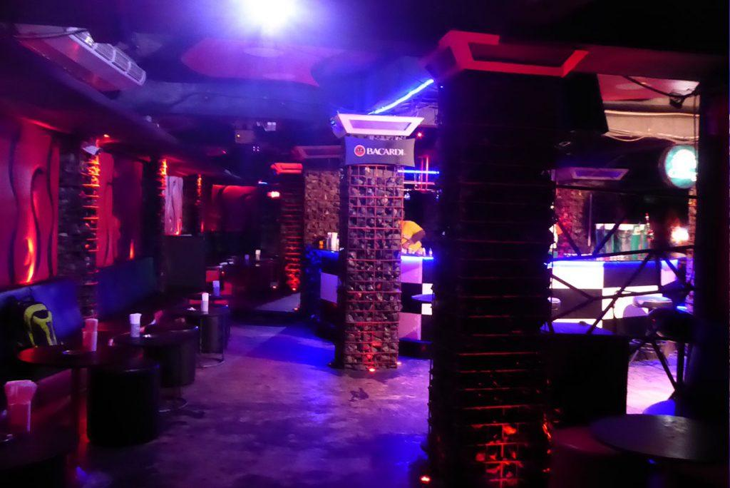 Lava Gold Club, Khaosan Road in Bangkok.