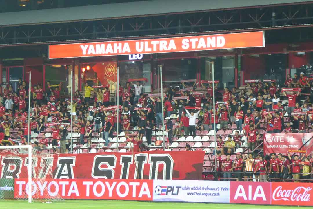 Football in Bangkok Thai Premier League Muang Thong United