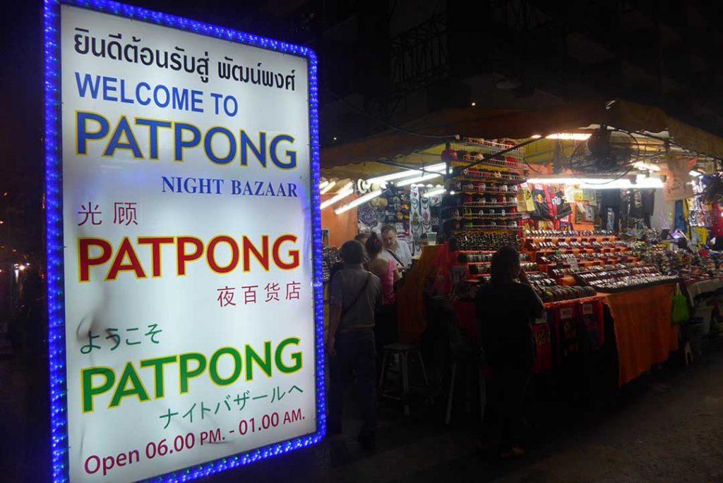 Patpong Night Bazaar - Markets in Bangkok
