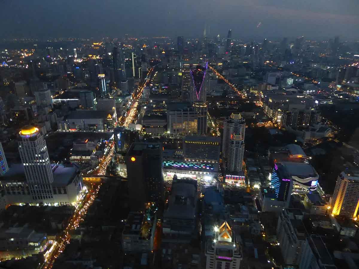 views of Bangkok