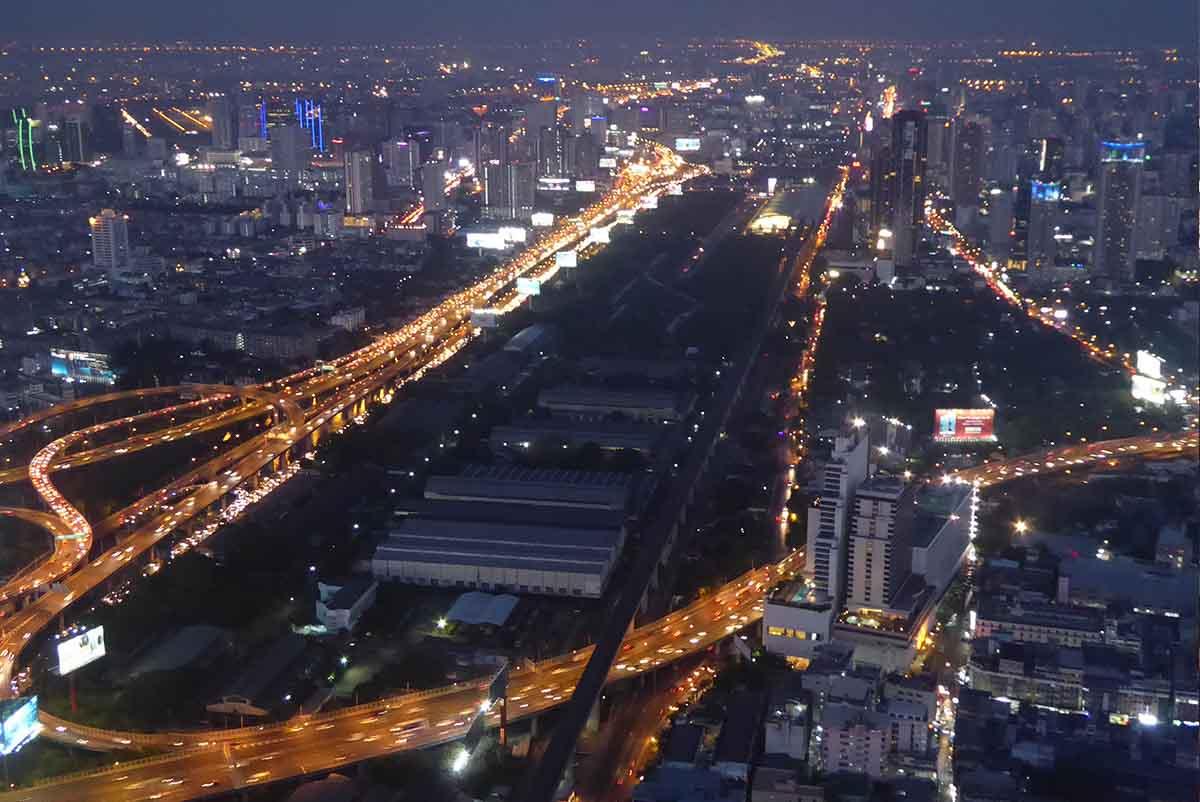 Baiyoke Tower Observation Deck Bangkok