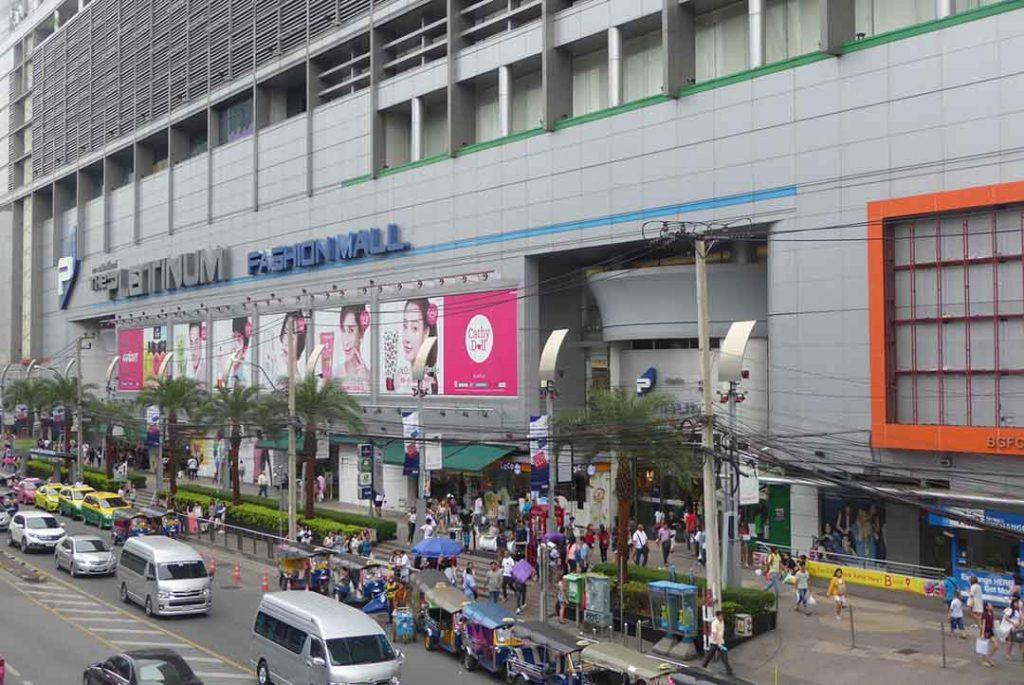 The Platinum Fashion Mall Bangkok.