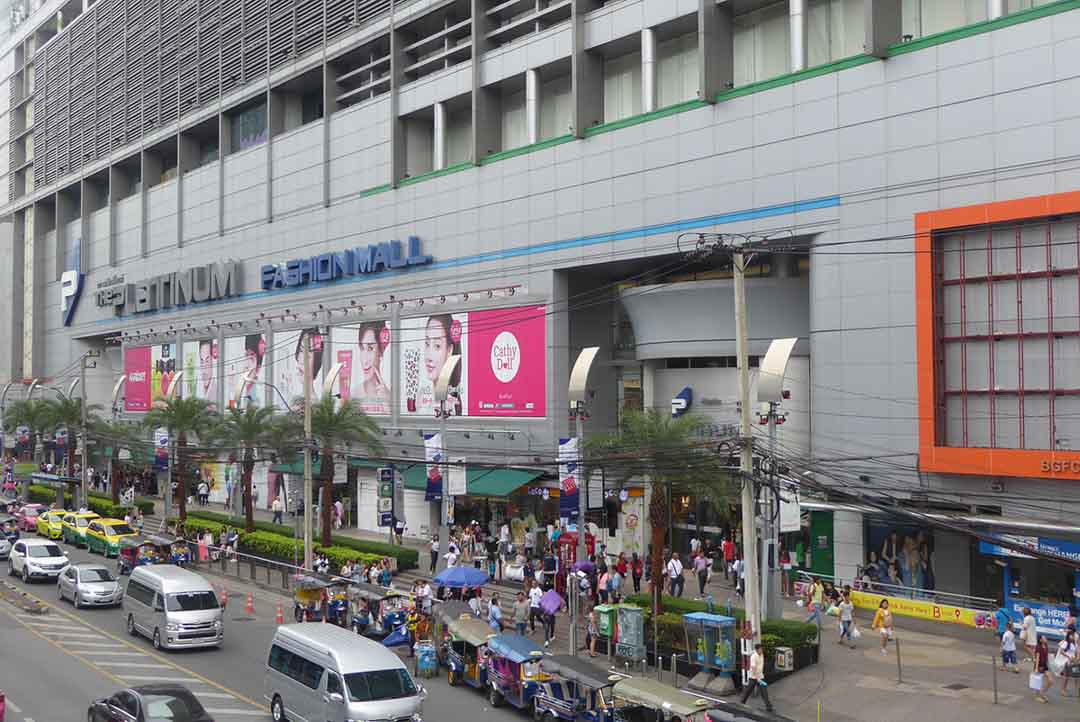 The Platinum Fashion Mall Bangkok. Shopping in Bangkok.