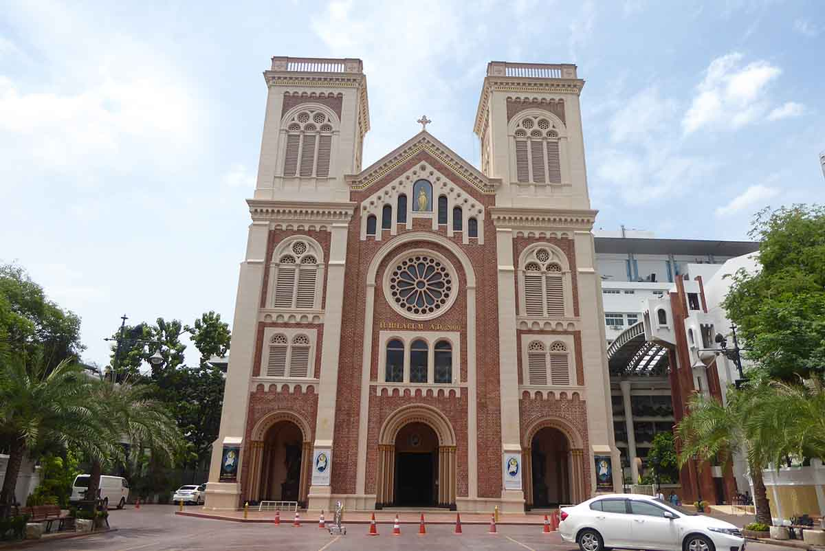Assumption Cathedral in Bangkok