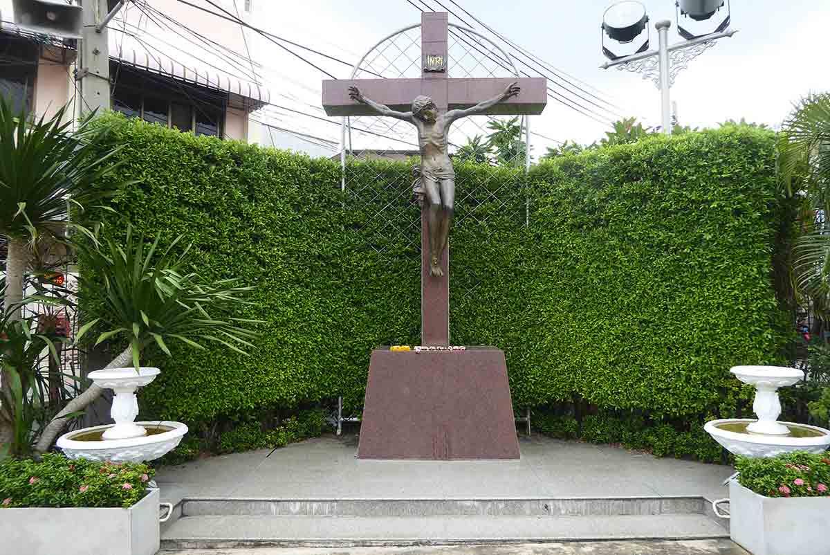 Santa Cruz Church Bangkok. Catholic Church in Bangkok.