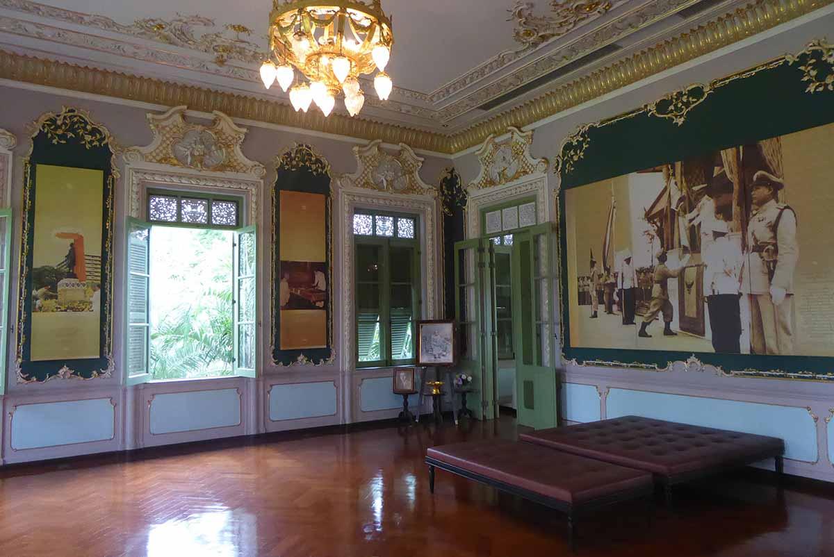 Parutsakawan Palace – Chitralada Villa. Royal Palaces in Bangkok.