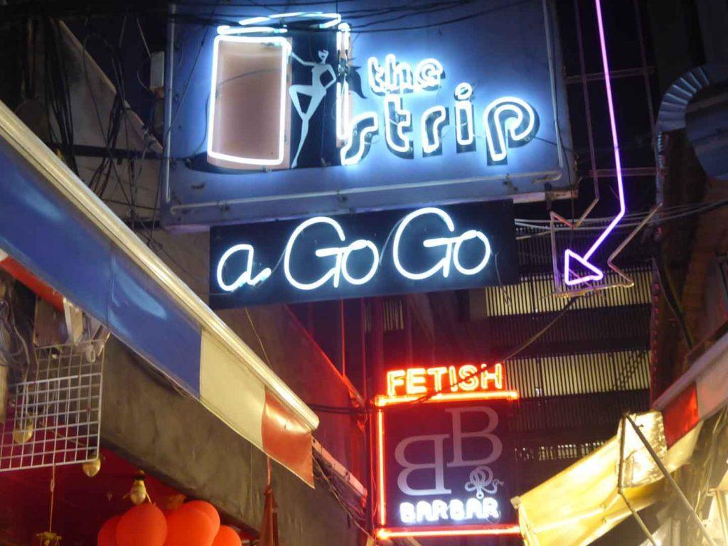 Go Go Bars Patpong Bangkok