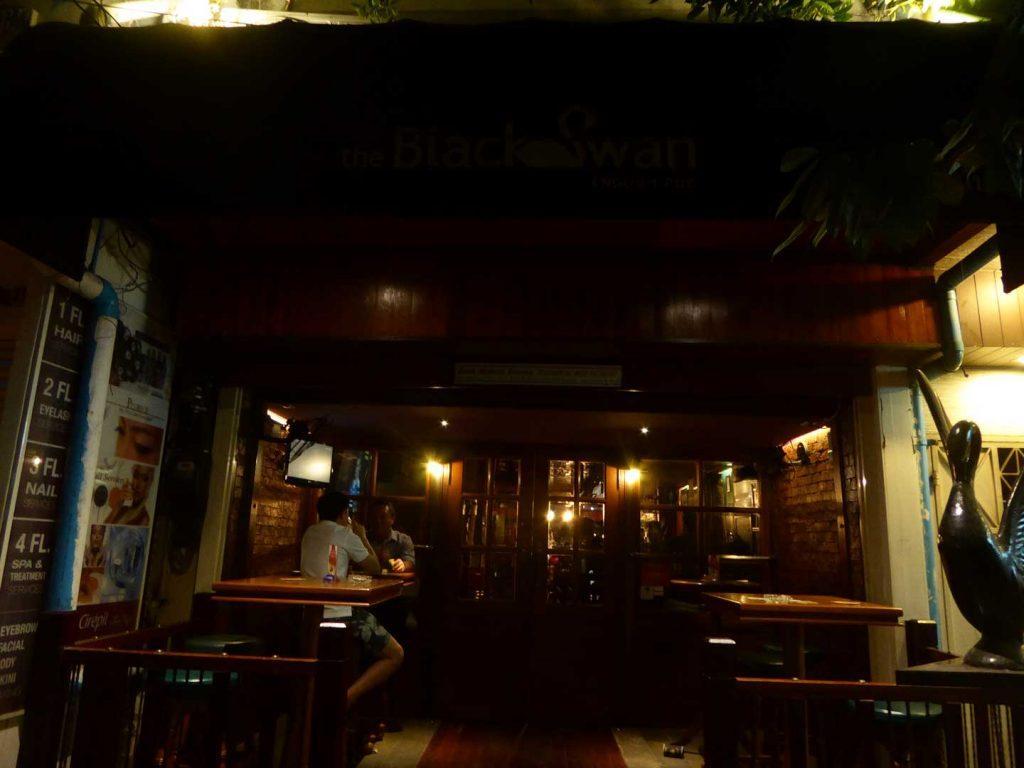 The Black Swan pub in Bangkok