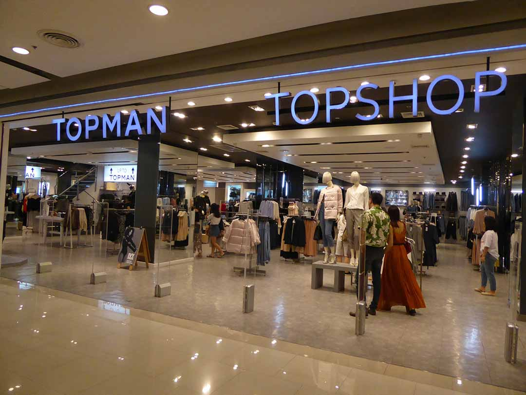 Central World Shopping Mall in Bangkok