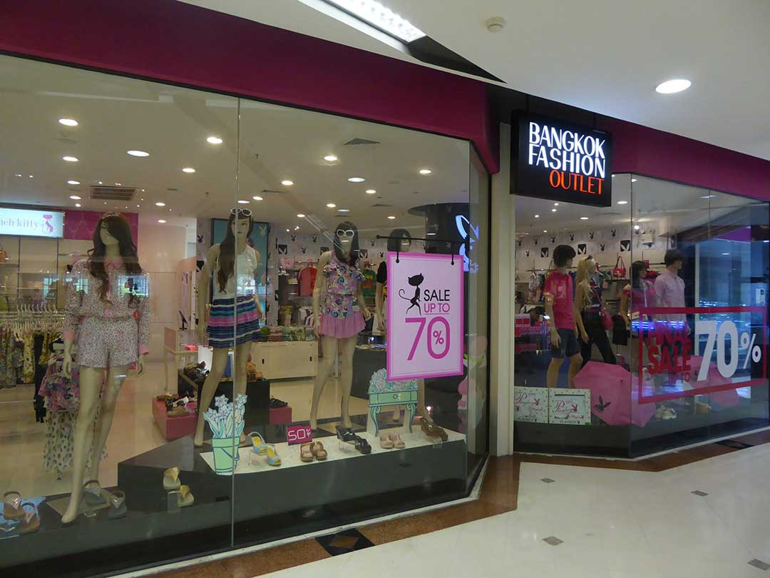 Shopping in Bangkok - Bangkok Fashion Outlet