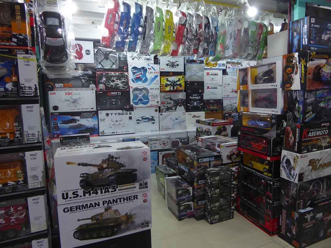 Toys and collectibles in Bangkok Shopping in Bangkok