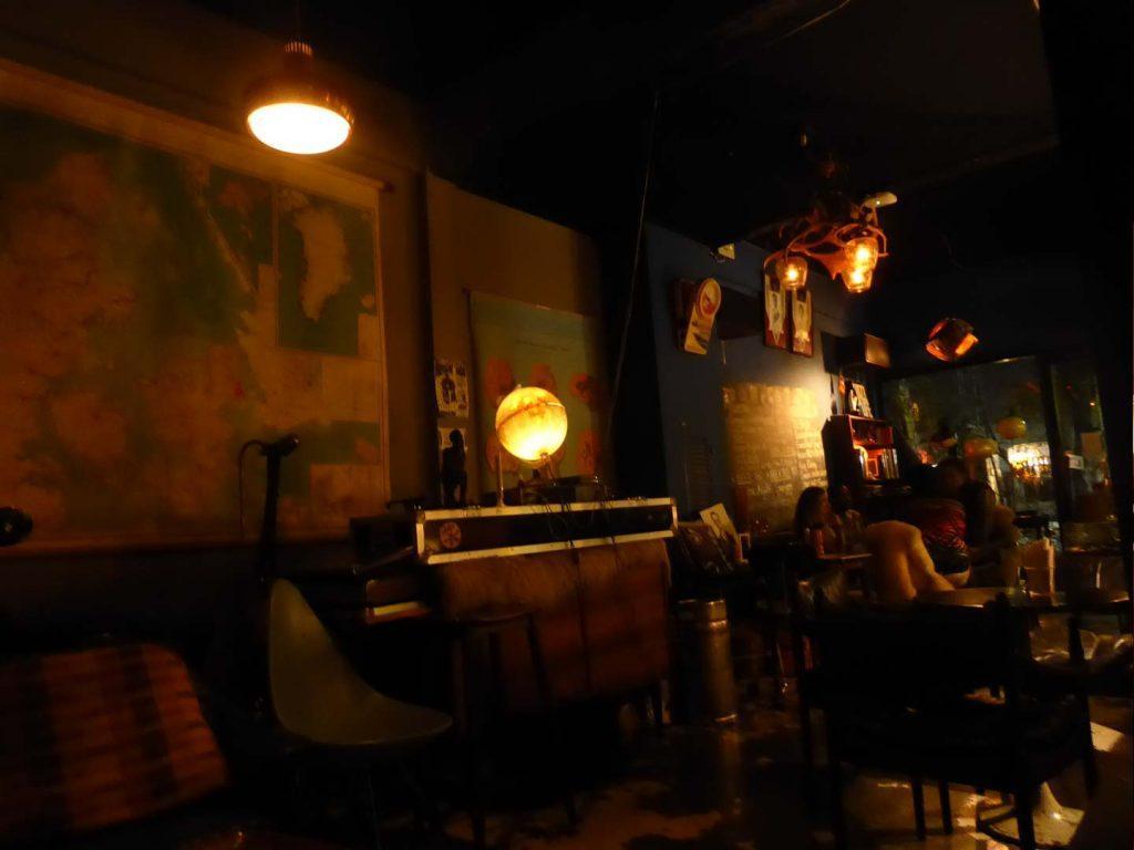 Shades of retro Bar in Bangkok