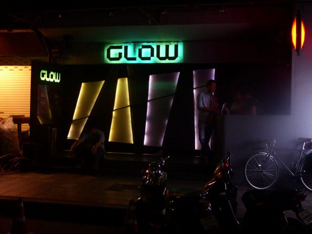 Glow nightclub in Bangkok.