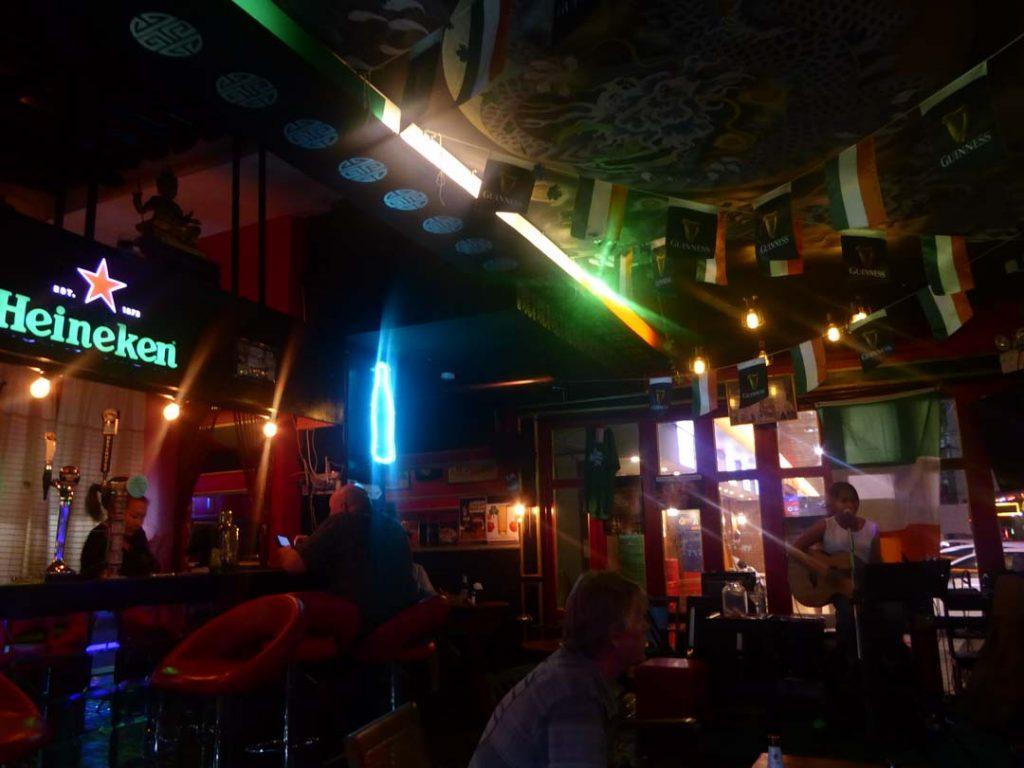 The Paddy Field Irish Bar in Bangkok