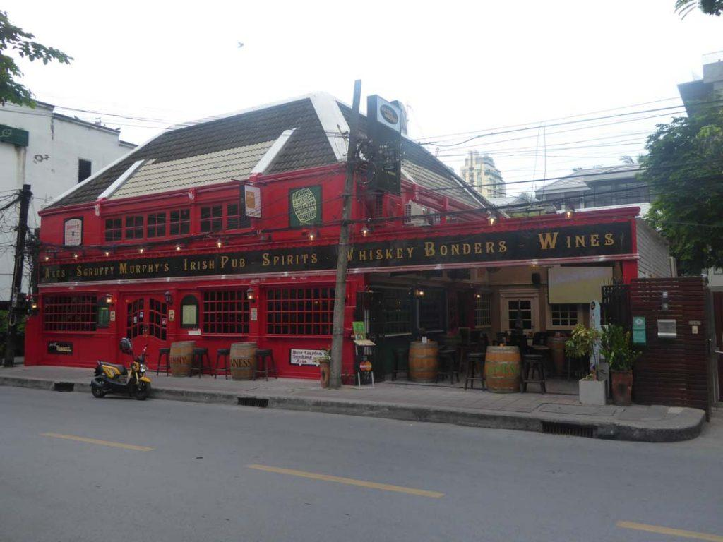 Scruffy Murphys Irish Pub in Bangkok
