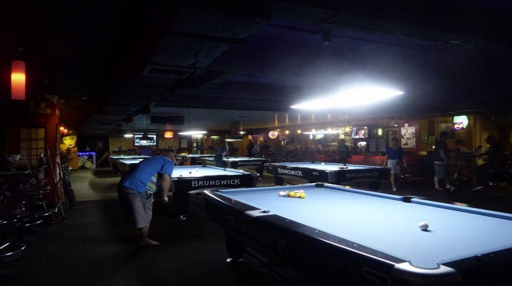 Sports Academy Pool Bar in Bangkok