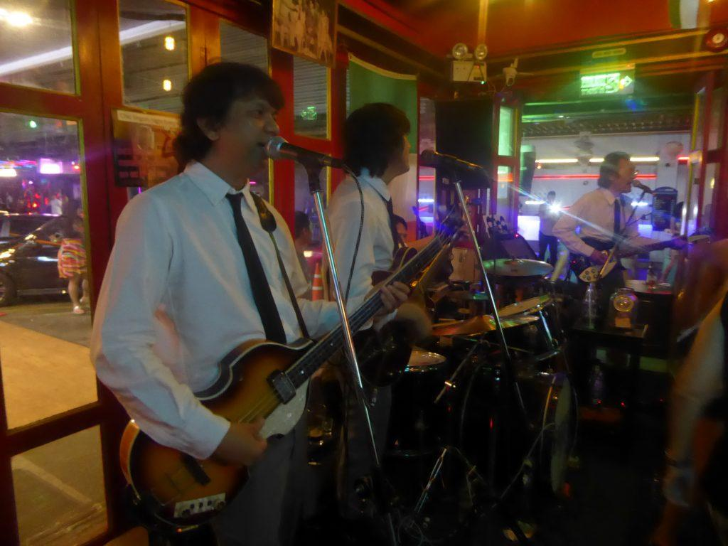 The Beatles Bangkok at The Paddy Field Irish Pub in Bangkok