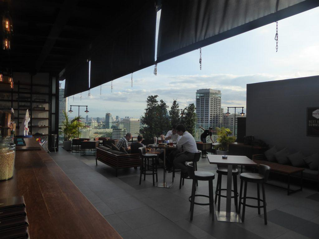 Brewski Rooftop Bar Bangkok