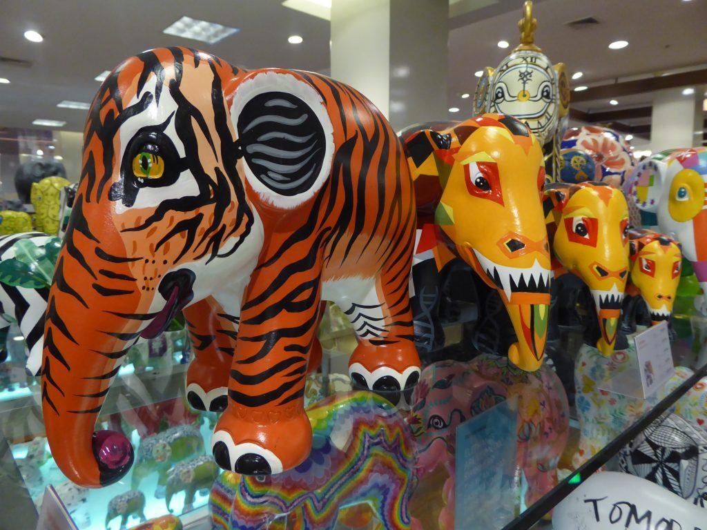 Elephant Parade in Bangkok