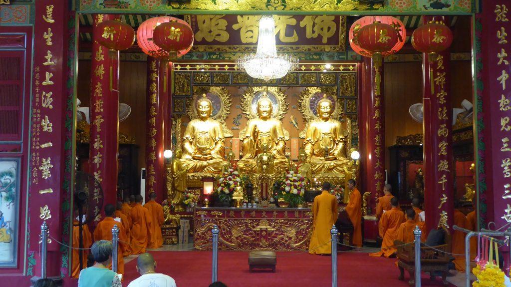 Wat Mongkhon Kamalawat Chinatown Bangkok