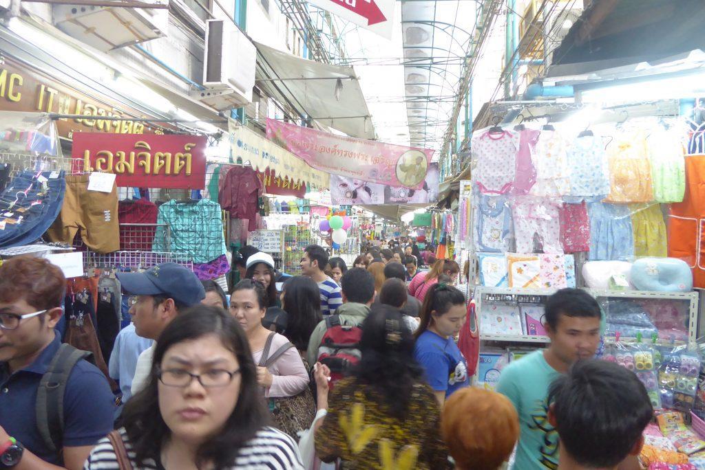 Sampeng Lane Street Market in Chinatown Bangkok