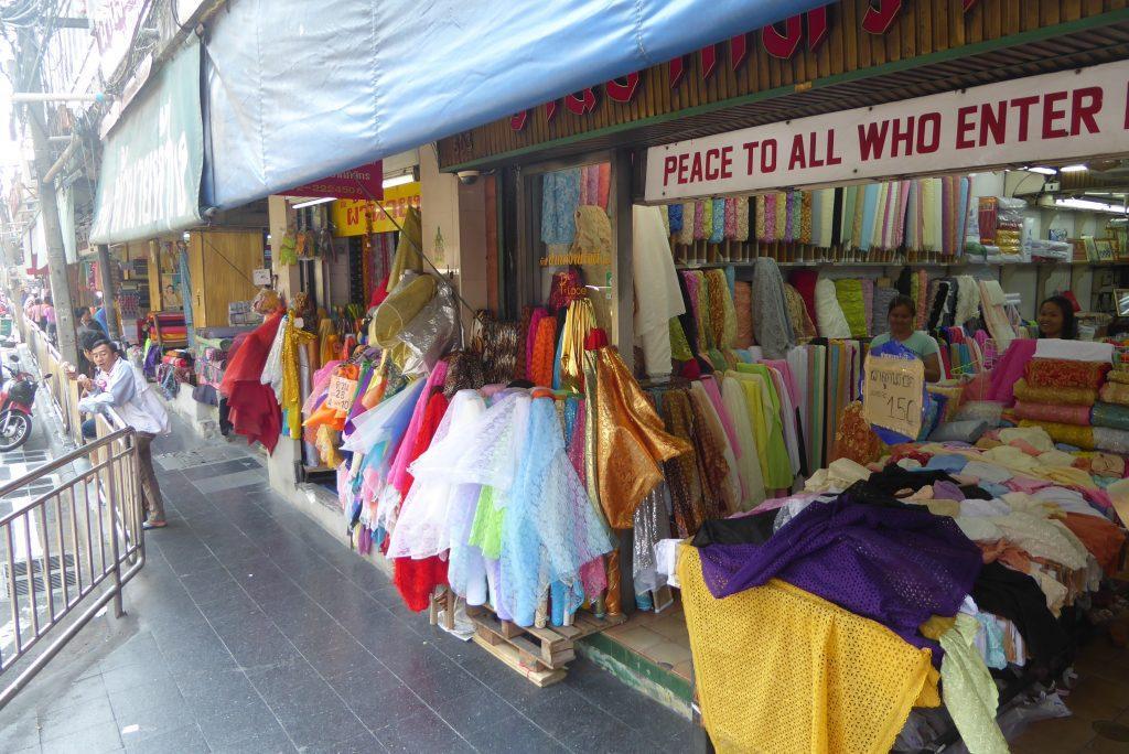 Phahurat Market in Little India Bangkok