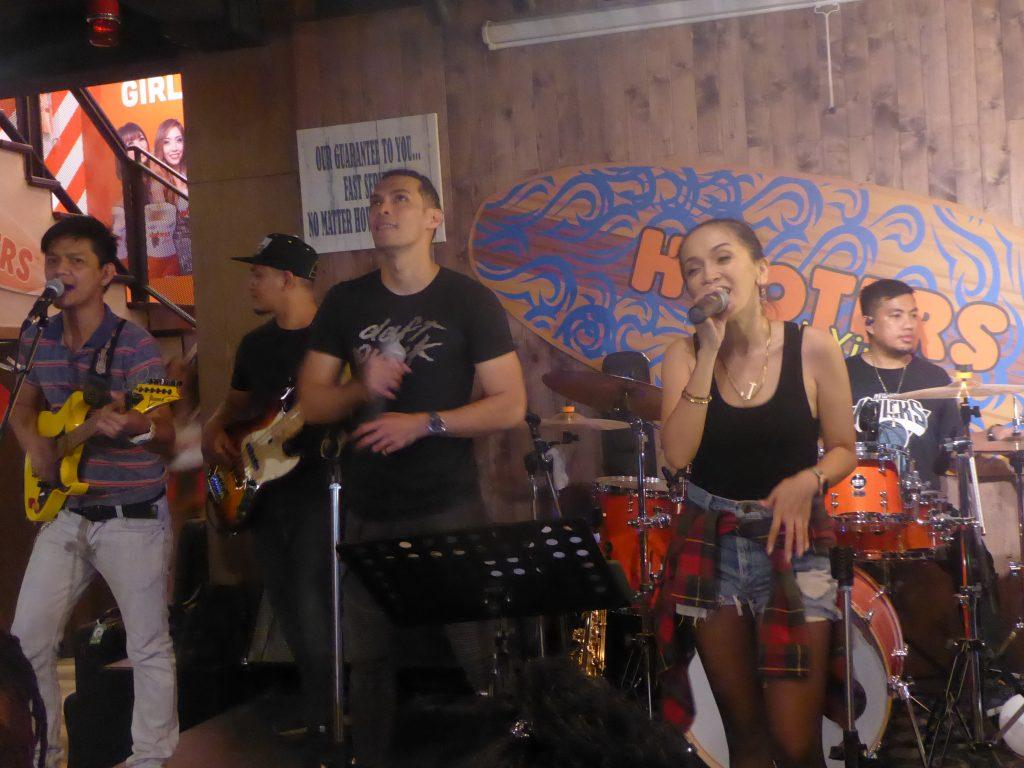 Live Music at Hooters Silom Bangkok