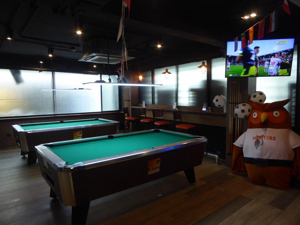 Pool at Hooters Bangkok
