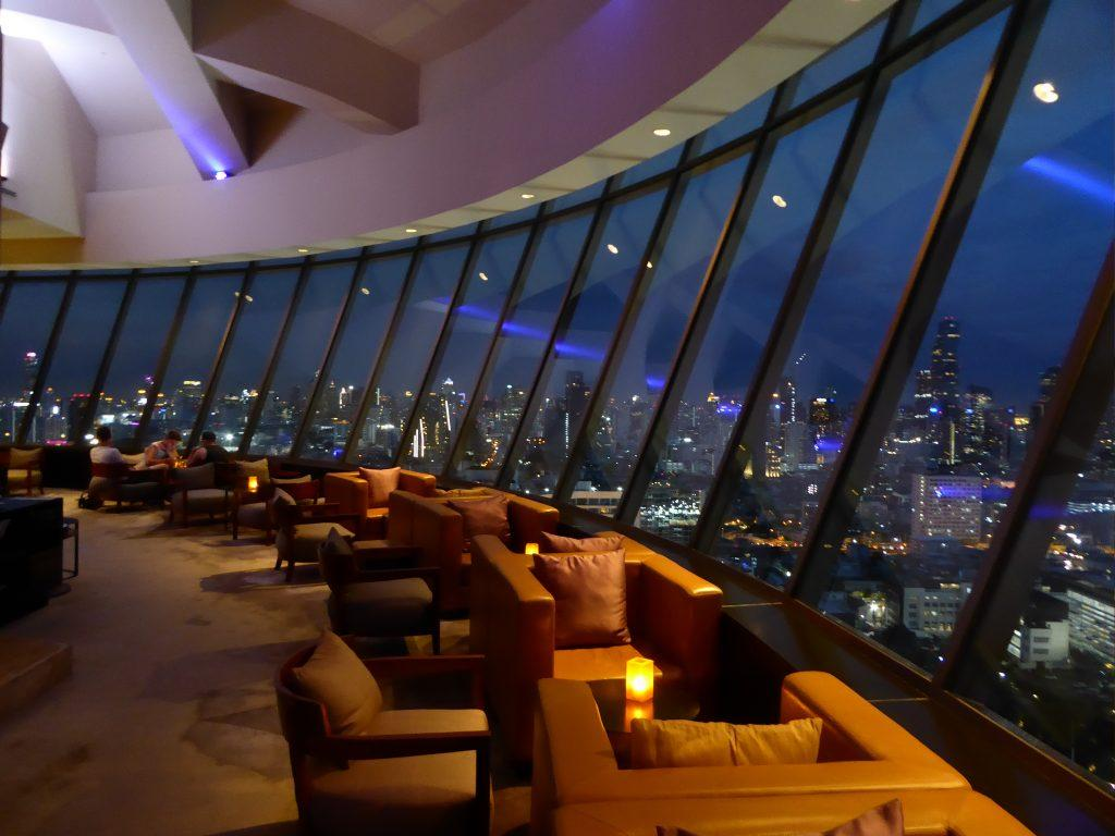360 Bar at the Millennium Hilton Bangkok