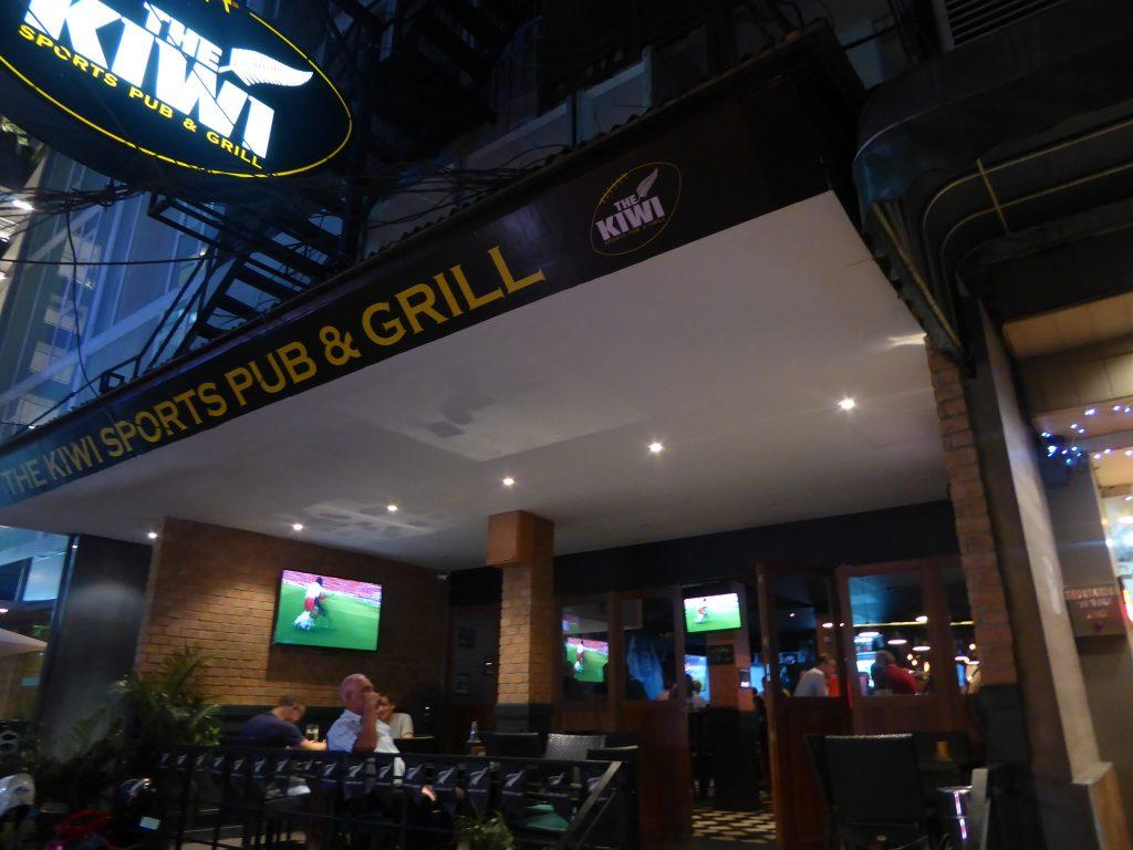The Kiwi Sports Bar in Bangkok