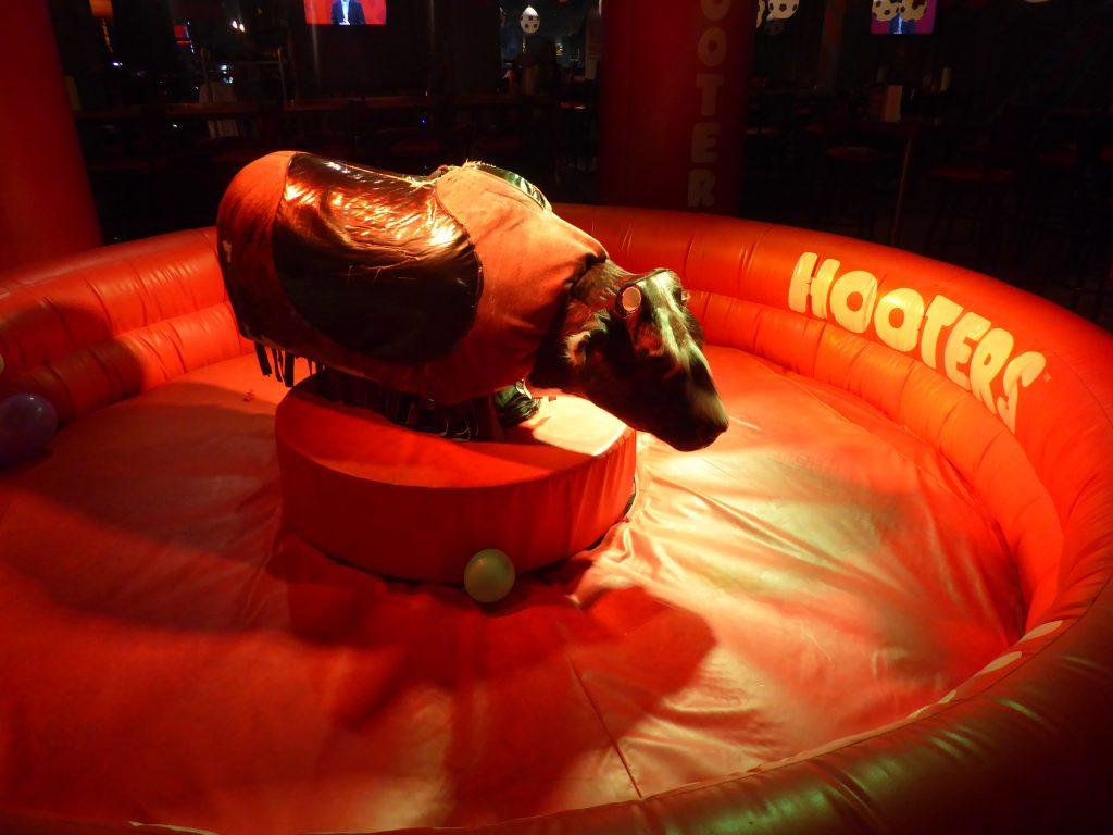 Mechanical Bull at Hooters Bangkok