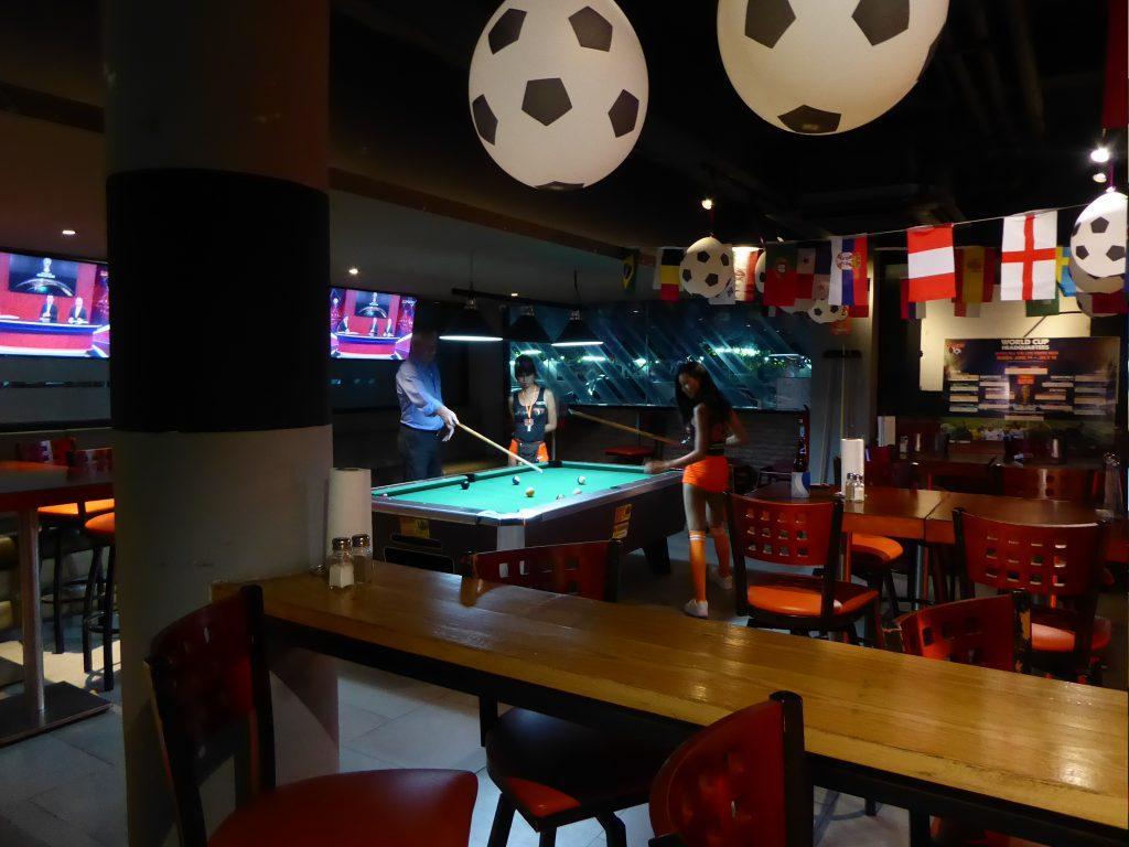 Pool at Hooters Bangkok
