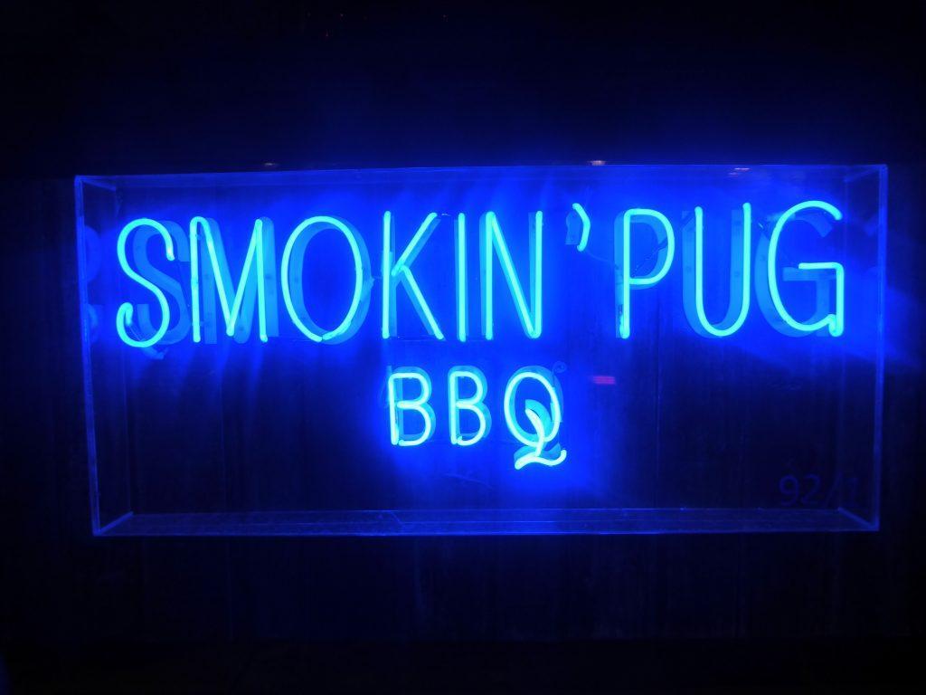 The Smokin Pug BBQ restaurant in Bangkok