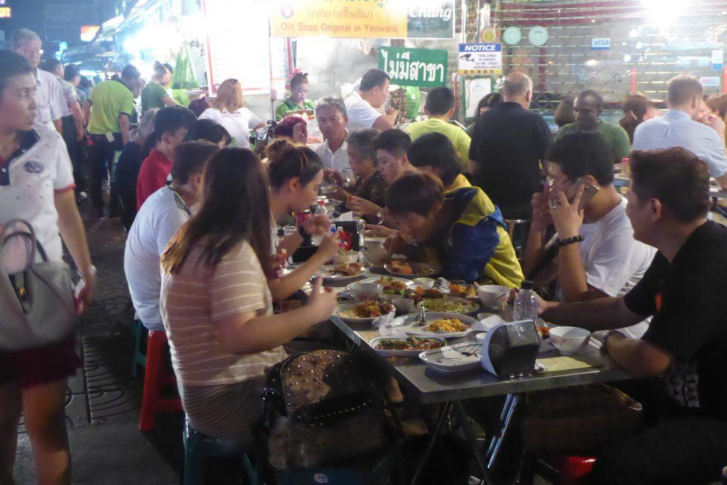 Street Food in Chinatown Bangkok