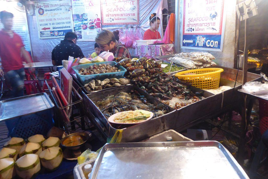 Seafood restaurants in Bangkok