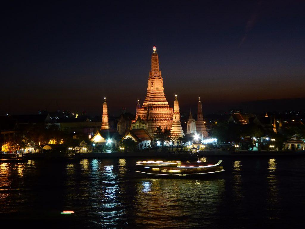 View from the Roof Bar at Sala Rattanakosin in Bangkok