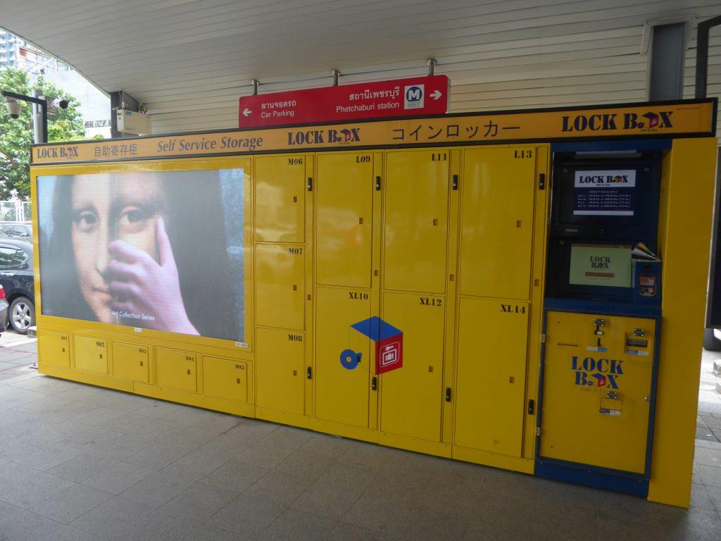 Left Luggage lockers in Bangkok